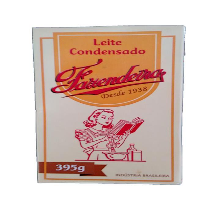 LEITE CONDENSADO FAZENDEIRA 27/395G
