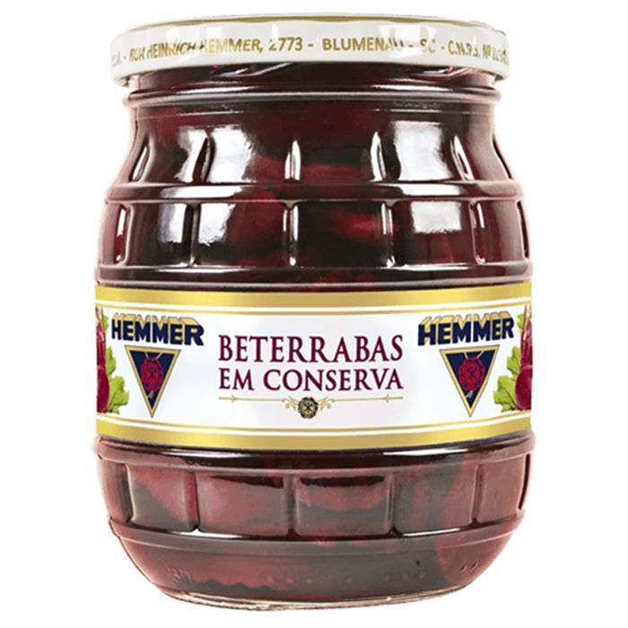 HEMMER BETERRABA EM CONSERVA CX 15/400GR