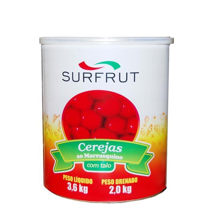 CEREJA EM CALDA C/CABO SURFRUT 6/1,65KG