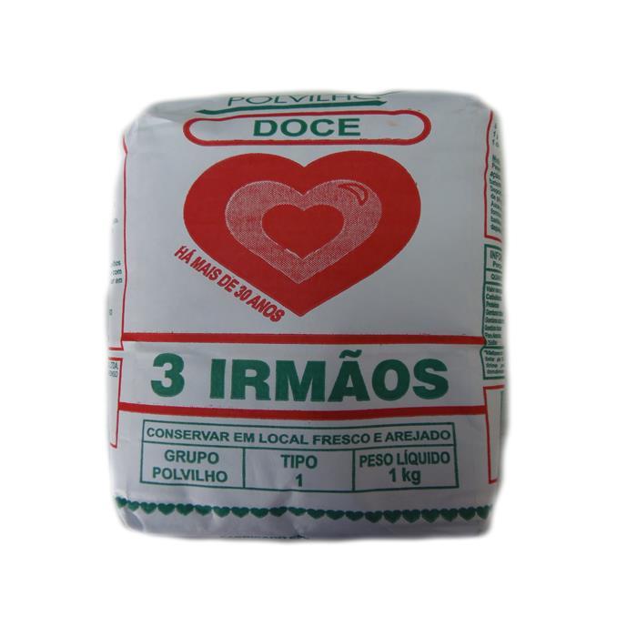 POLVILHO DOCE 3 IRMAOS FD.10/1KG