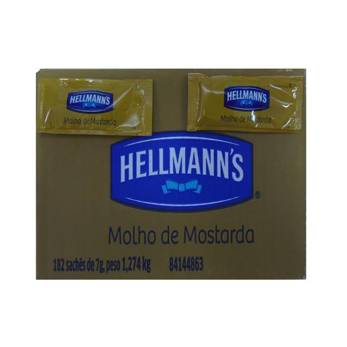 SACHE MOSTARDA HELLMANNS CX.182/7GR