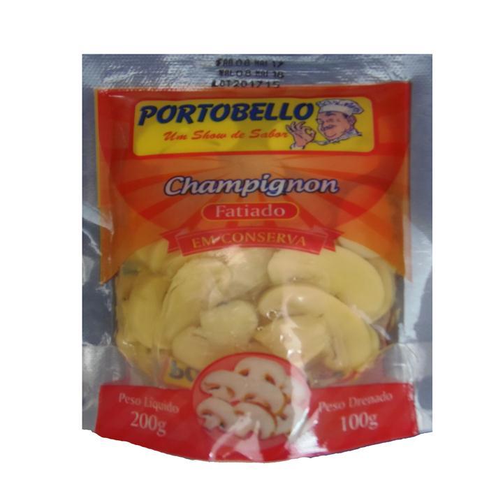 COGUMELO SACHE FATIADO PORTOBELLO 100GR