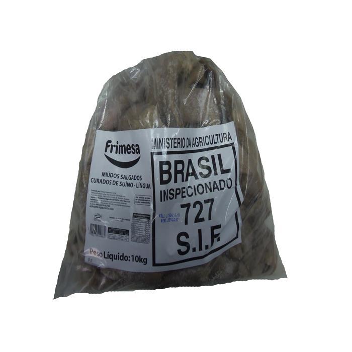 SALGADO LINGUA SUINA FRIMESA CX 10 KG