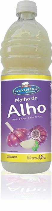 MOLHO ALHO LANCHERO FD.12/1,01ML