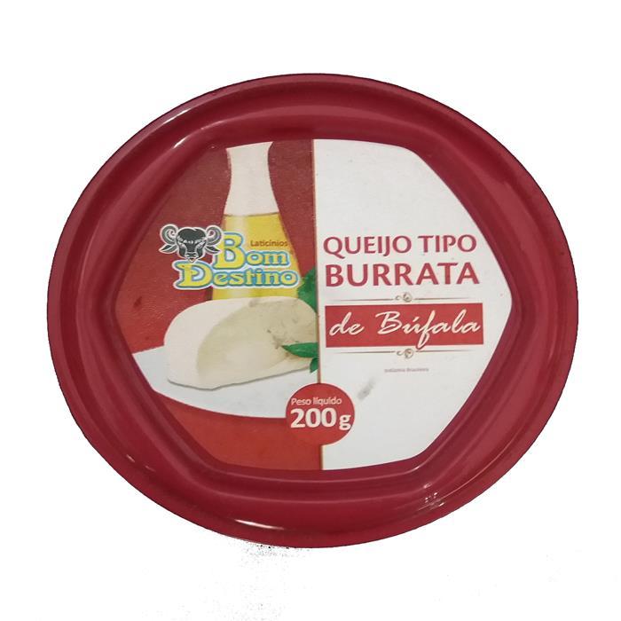 QUEIJO BURRATA BUFALA BOM DESTINO 200GR