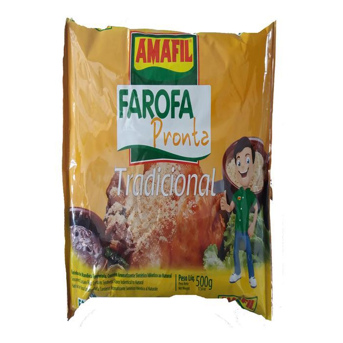 FAROFA PRONTA AMAFIL CX.10/500GR