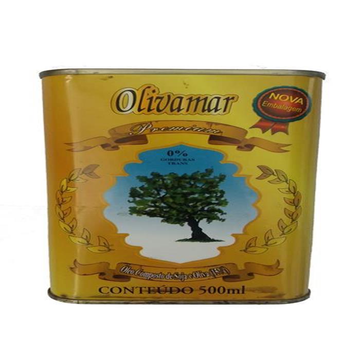 OLEO COMPOSTO OLIVAMAR LT CX20/500ML