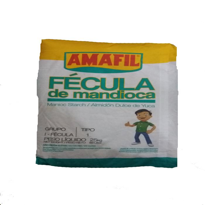 FECULA DE MANDIOCA AMAFIL FD 25KG