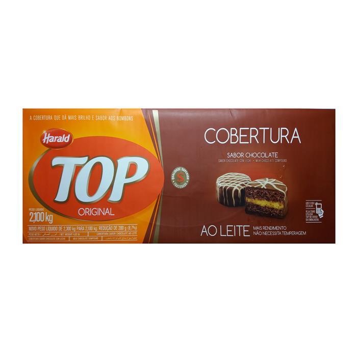 CHOC TOP COBERTURA AO LEITE HARALD 6/2,1