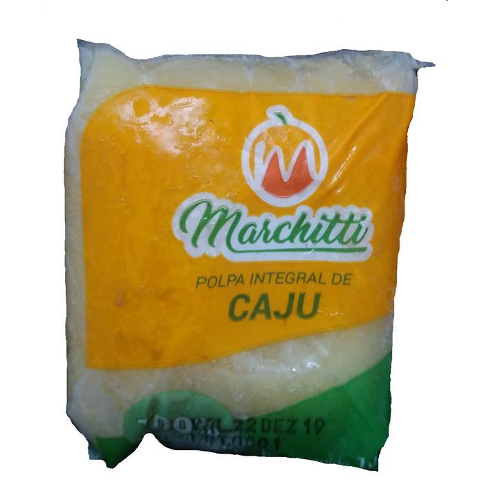 POLPA DE FRUTA CAJU MARCHITTI 10/100GR