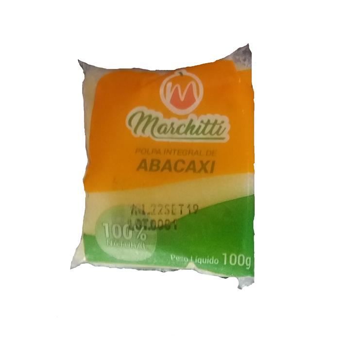 POLPA DE FRUTA ABACAXI MARCHITTI 10/100G