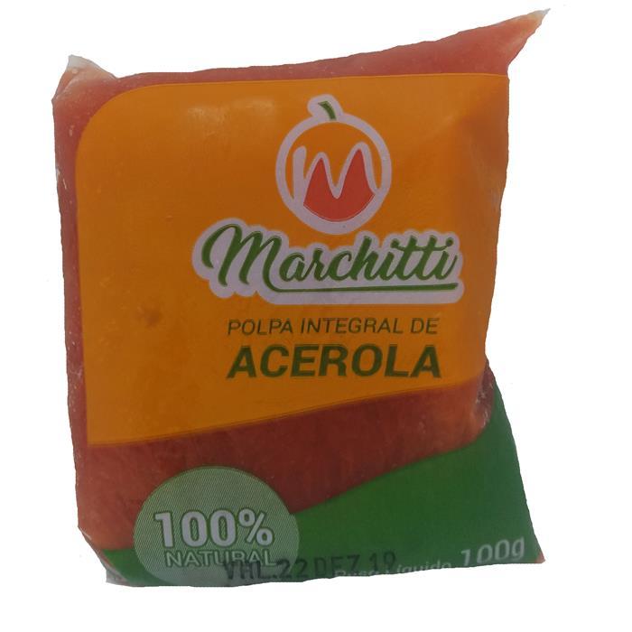 POLPA DE FRUTA ACEROLA MARCHITTI 10/100G
