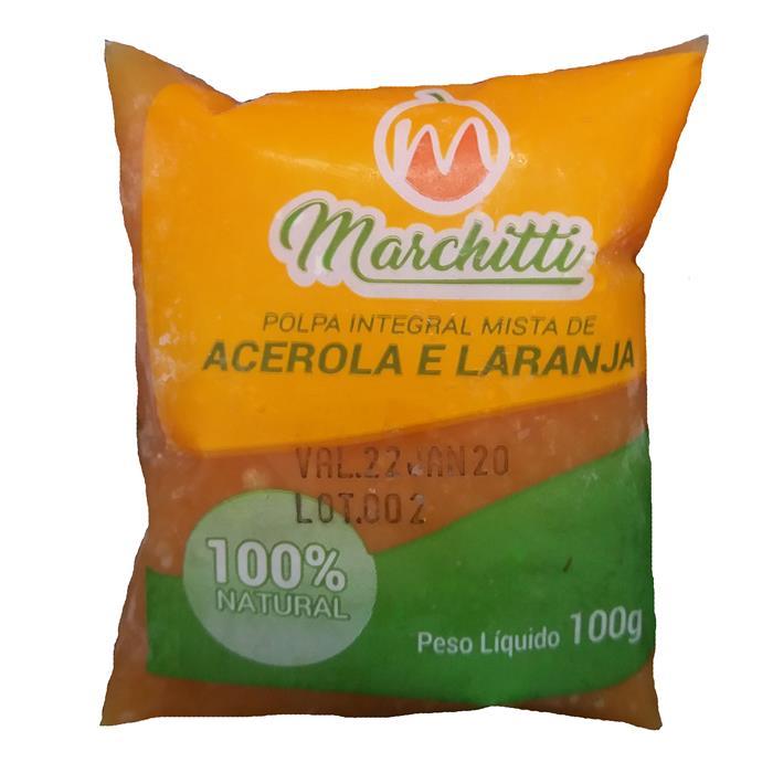 POLPA DE FRUTA ACEROLA/LAR MARC.10/100GR