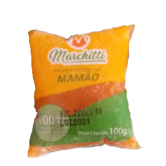 POLPA DE FRUTA MAMAO MARCHITTI 10/100GR