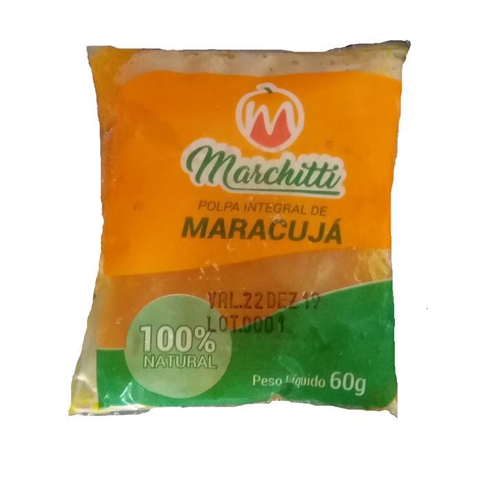 POLPA DE FRUTA MARACUJA MARCHIT 10/60GR