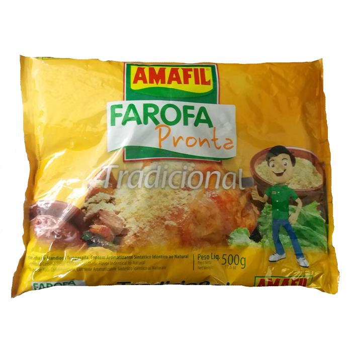 FAROFA PRONTA AMAFIL CX.20/500GR