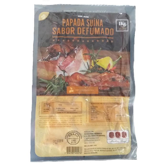 BACON FATIADO PAPADA MISTER BEEF 18/1KG