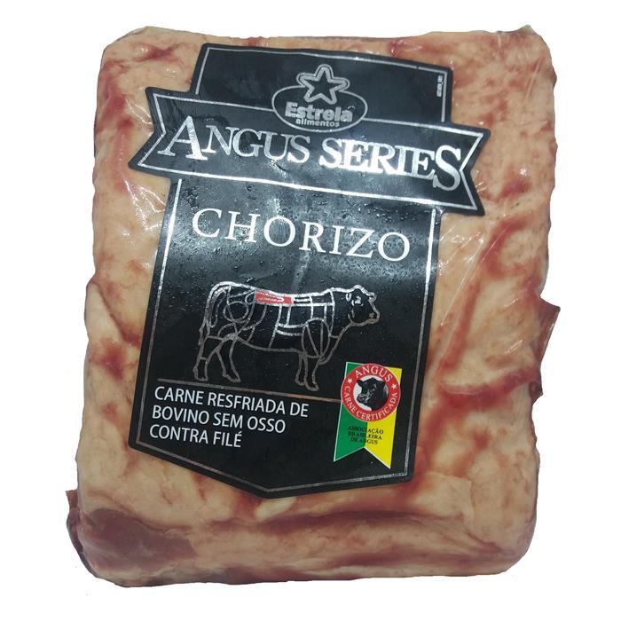 BOV CHORIZO ANGUS PORC ESTRELA 12/+-1,2