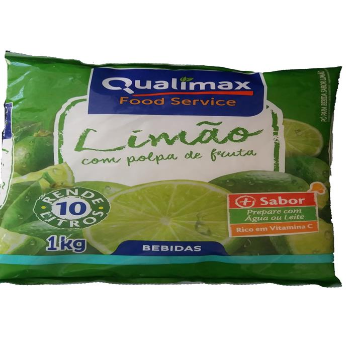 REFRESCO PO LIMAO QUALIMAX CX10/1KG