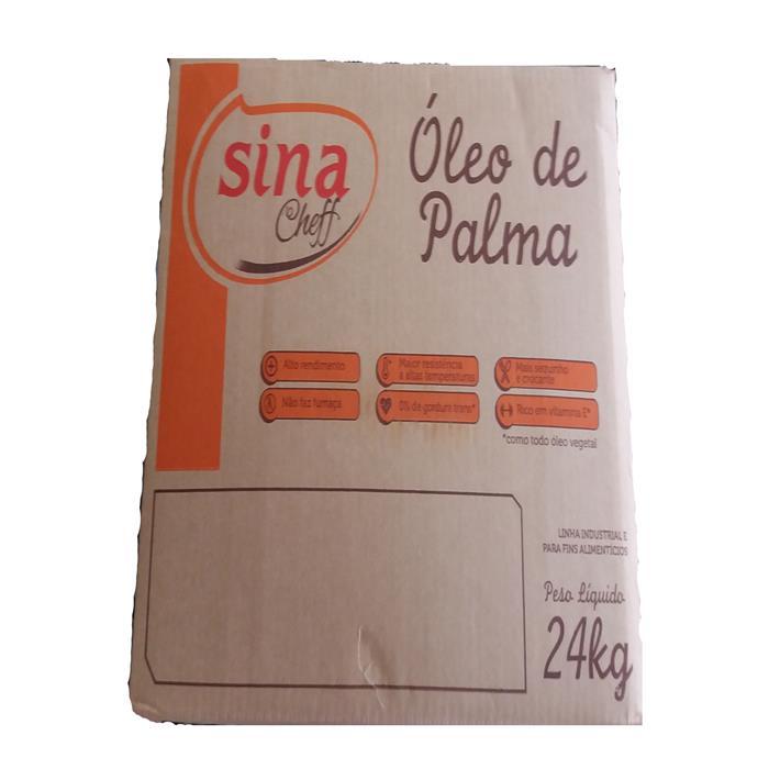 OLEO DE PALMA P38F SINA CHEFF CX 24KG