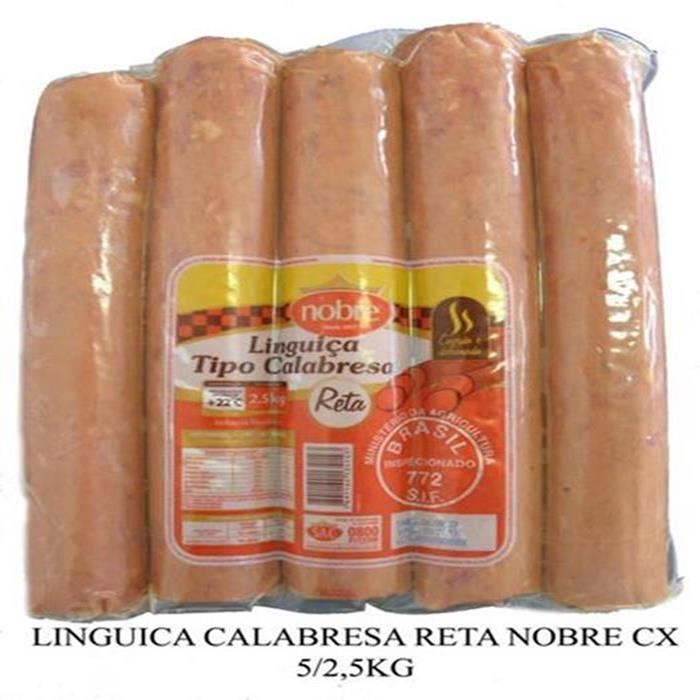 LINGUICA CALABRESA RETA NOBRE CX 5/2,5KG