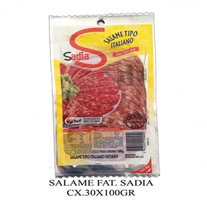 SALAME FAT. ITALIANO SADIA CX.30/100G