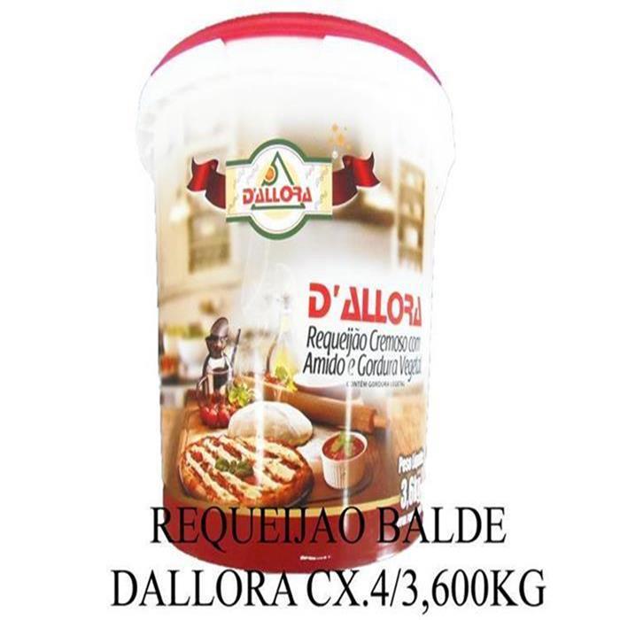 REQUEIJAO BALDE DALLORA CX.4/3,600KG