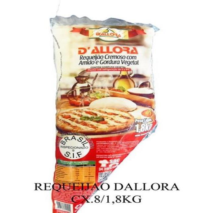 REQUEIJAO DALLORA CX.8/1,8KG