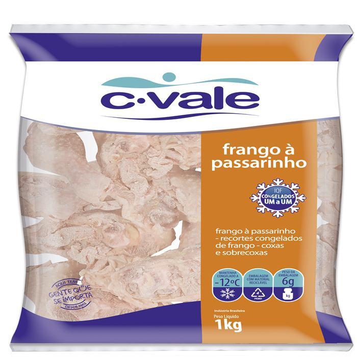 AVE FRANGO PASSARINHO IQF 127 CVALE 15/1