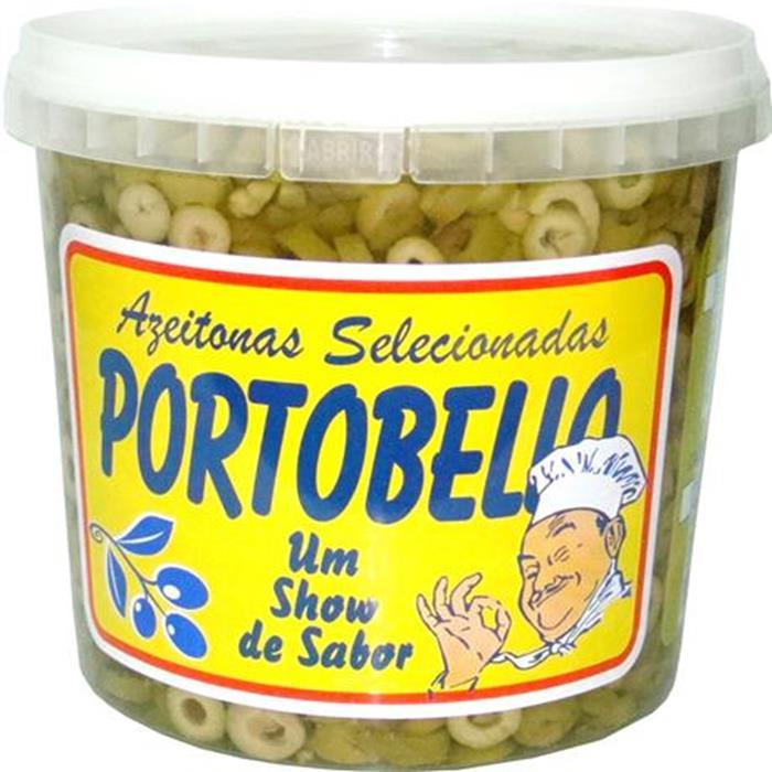 AZEITONA VERDE FAT PORTOBELLO BD. 6/1,8K