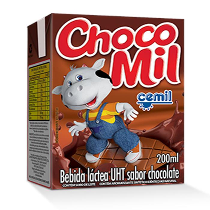 ACHOCOLATADO CHOCOMIL CX.27/200ML