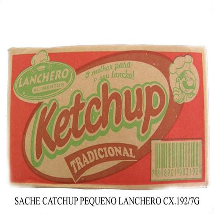 SACHE KETCHUP PEQ. LANCHERO 12/190 X 7G
