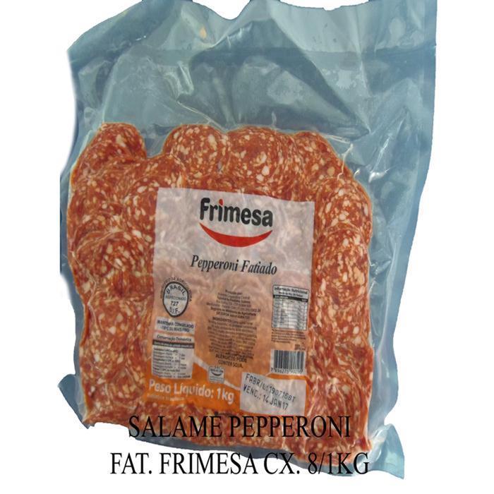 SALAME PEPPERONI FAT. FRIMESA CX. 8/1KG