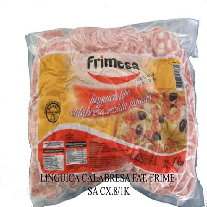 LINGUICA CALABRESA FAT. FRIMESA CX.8/1K