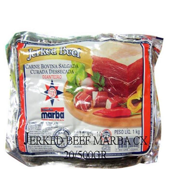 JERKED BEEF DIANTEIRO MARBA CX 20/500G