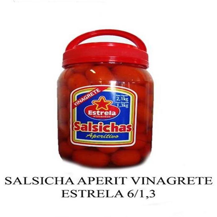 SALSICHA APERIT VINAGRETE ESTRELA 6/1,3