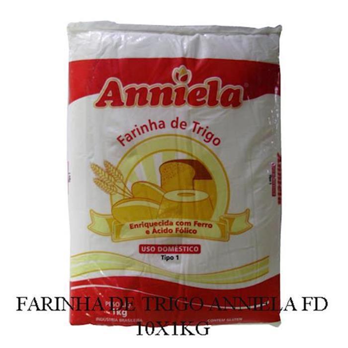 FARINHA DE TRIGO ANNIELA FD 10X1KG