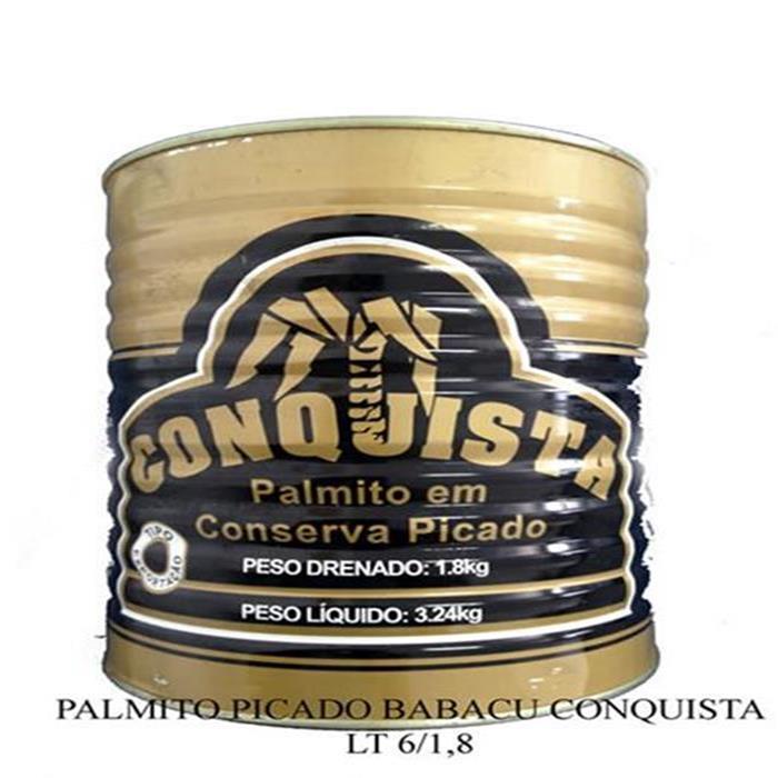 PALMITO PICADO BABACU CONQUISTA LT 6/1,8