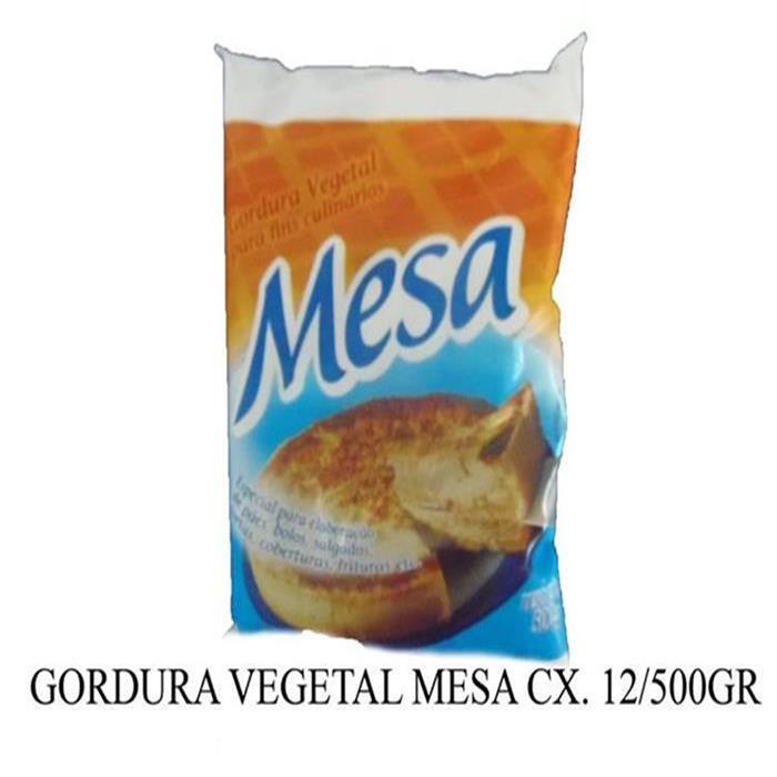 GORDURA VEGETAL MESA CX. 12/500GR