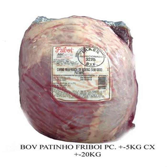 BOV PATINHO FRIBOI +-4PC/+-5KG