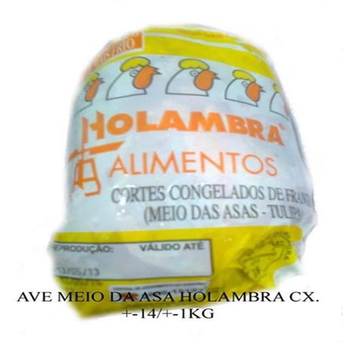 AVE MEIO DA ASA HOLAMBRA CX. +-18/+-1KG