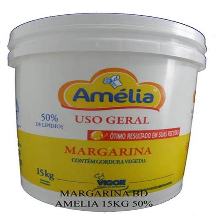 MARGARINA BD AMELIA 15KG 50% LIP. C/S