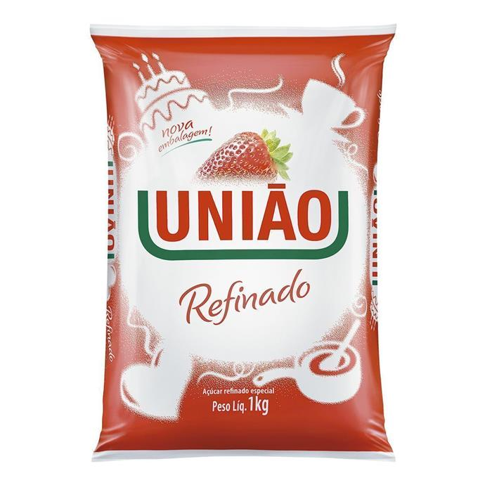 ACUCAR REFINADO UNIAO FD.10/1KG
