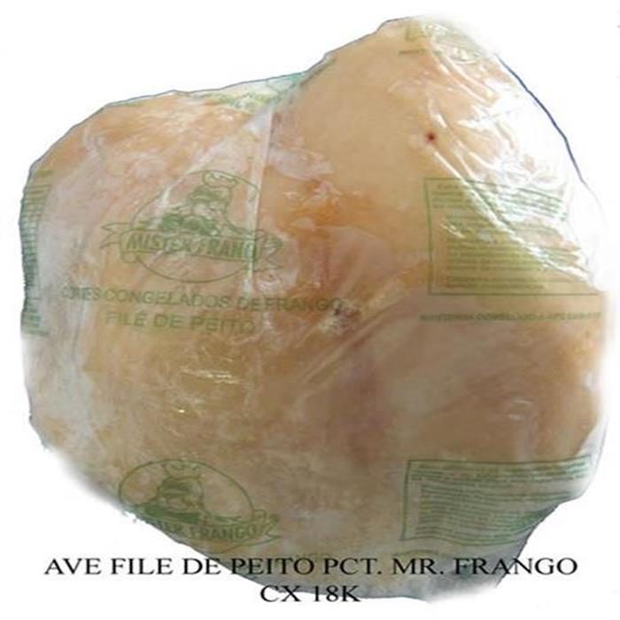 AVE FILE DE PEITO IND. MR. FRANGO CX 18K