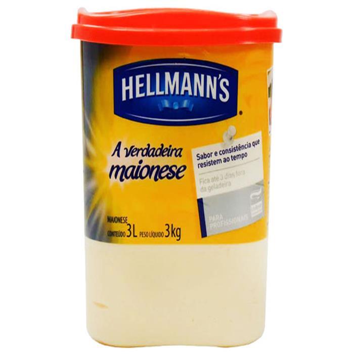 MAIONESE BALDE HELLMANN'S CX.6/3KG