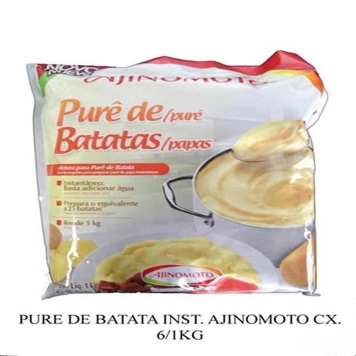 PURE DE BATATA (FLOCOS) AJINOMOTO 6/1KG