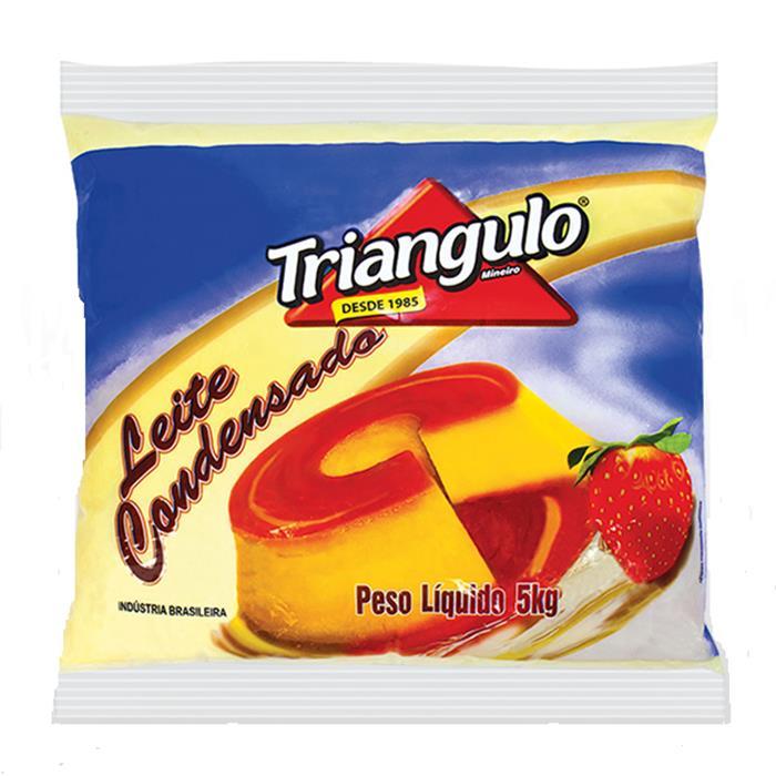 LEITE CONDENSADO BAG TRIANGULO CX. 4/5KG