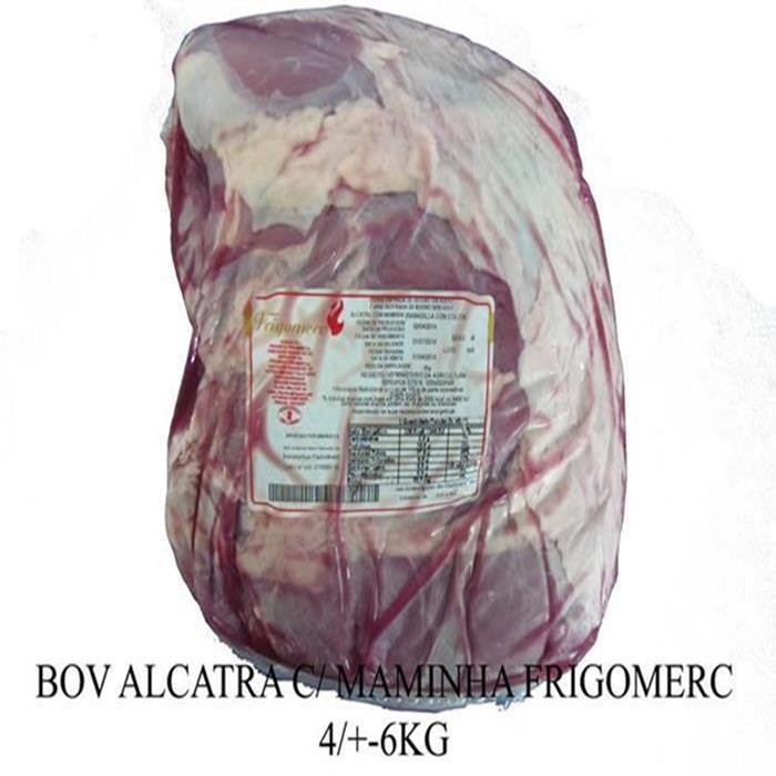 BOV ALCATRA C/ MAMINHA FRIGOME +-4PC+-6K