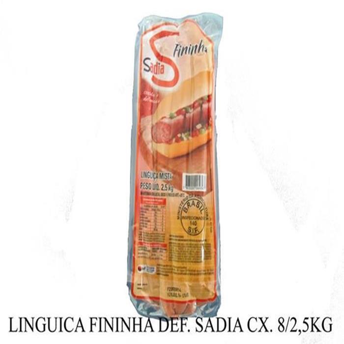 LINGUICA FININHA DEF. SADIA CX. 8/2,5KG