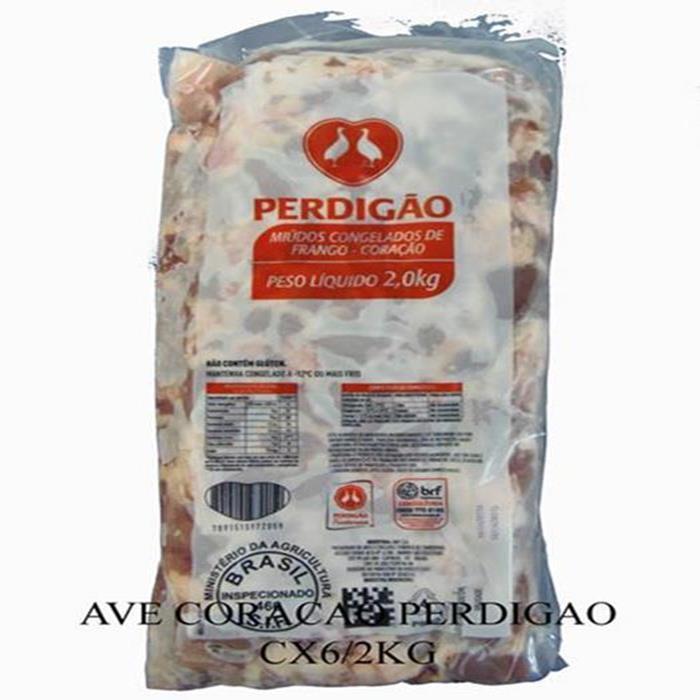 AVE CORACAO PERDIGAO CX6/2KG